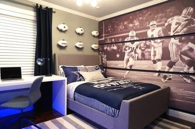 ROH  Dallas Cowboys Bedroom Makeover